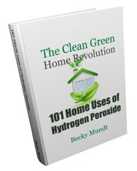 101 Home Uses of Hydrogen Peroxide 5th Edition book image