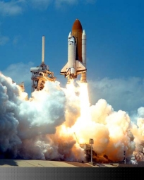 Space Shuttles Launch Using X-37 Specialized hydrogen peroxide fuel.