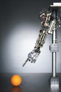 H2O2 Powered Prosthetic Arm
