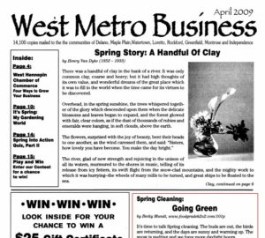 West Metro Business - Spring Cleaning by Becky Mundt